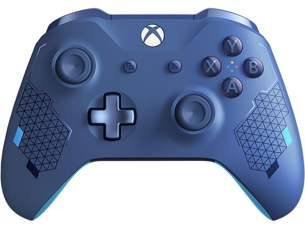 Геймпад Microsoft Xbox One Wireless Controller Sport Blue WL3-00146