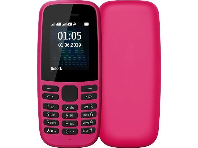 Сотовый телефон Nokia 105 Pink сотовый телефон nokia 105 blue