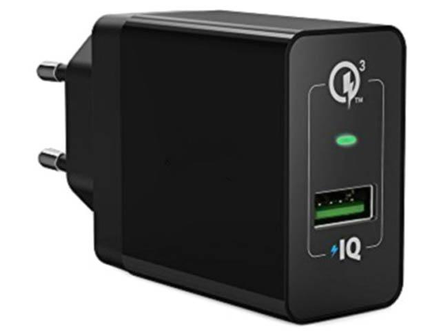 Зарядное устройство Anker PowerPort+ QC 3.0 Black A2013L11