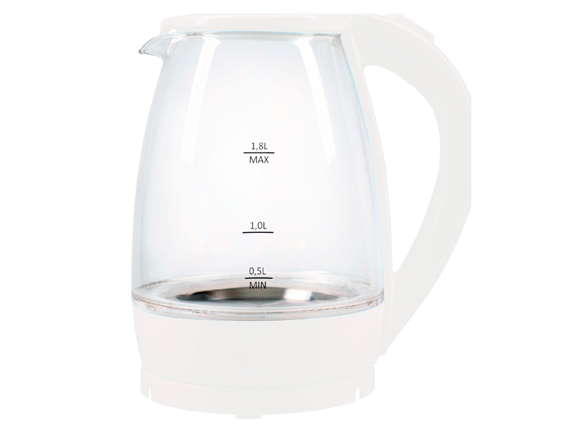 Чайник Мастерица EK-1801G White чайник мастерица эч 0 5 0 5 220з green