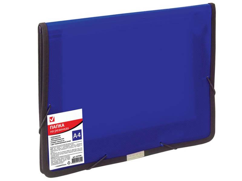 Папка Brauberg A4 330х240mm Blue 227978