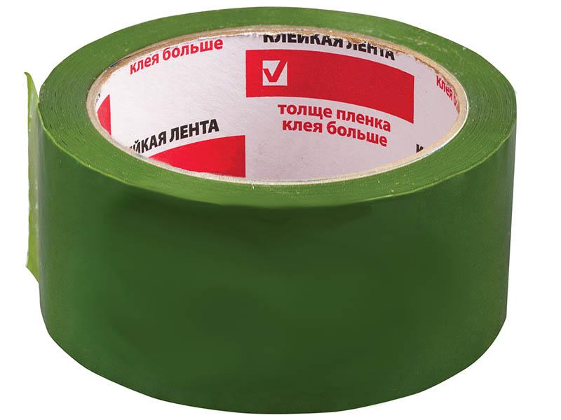 Клейкая лента Brauberg 48mm x 66m Green 440073