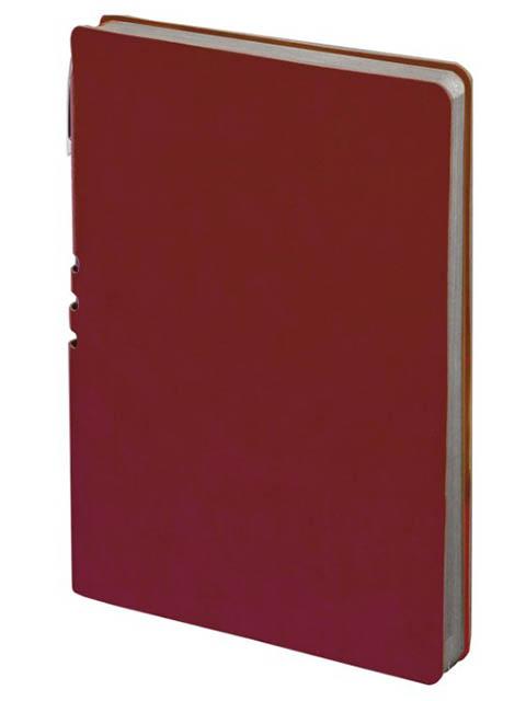 Бизнес-блокнот Brauberg Nebraska А5- 112 листов Bordo 110950