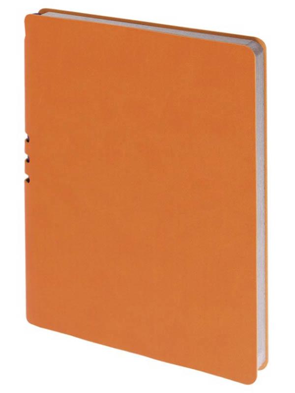 Бизнес-тетрадь Brauberg Nebraska А5+ 120 листов Orange 110956