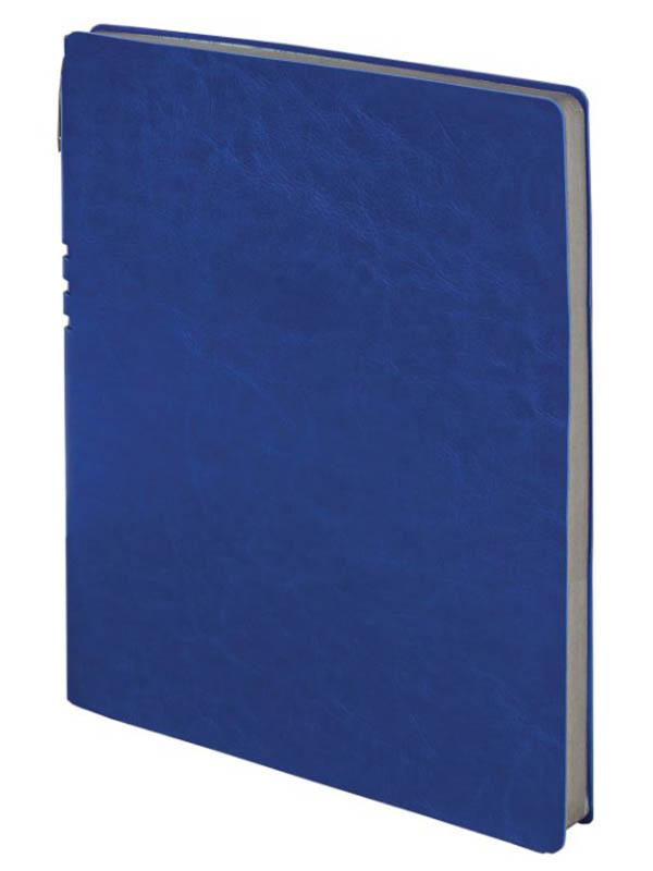 Бизнес-тетрадь Brauberg Nebraska А4- 96 листов Blue 110958