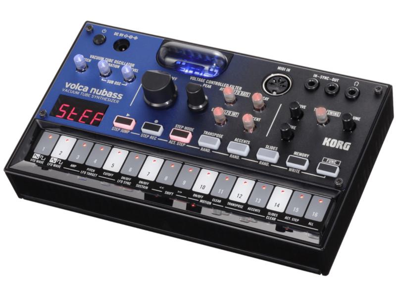 Синтезатор Korg Volca Nubass синтезатор korg pa4x or 61