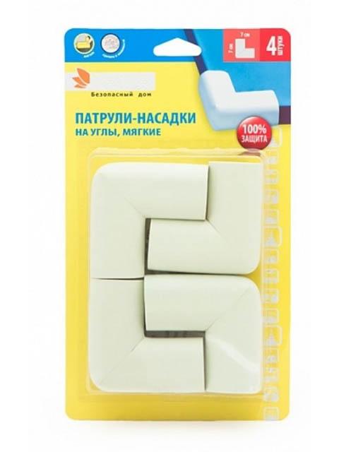 Патрули-насадки мягкие на углы Paterra 4шт 407-016