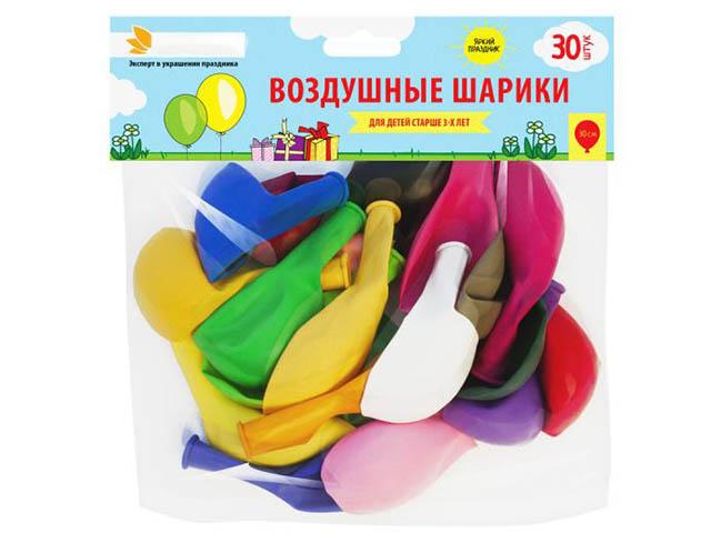 цена на Набор воздушных шаров Paterra 30шт 401-534