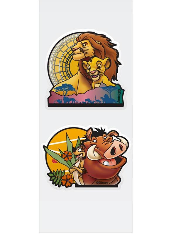 Игрушка Наклейка для ванной Paterra Король Лев 2шт 407-035