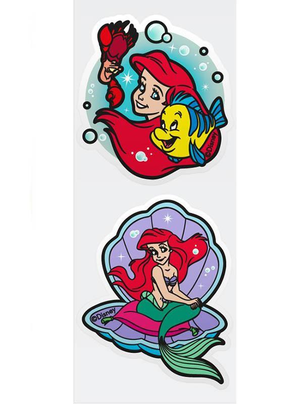 Игрушка Наклейка для ванной Paterra Русалочка 2шт 407-032