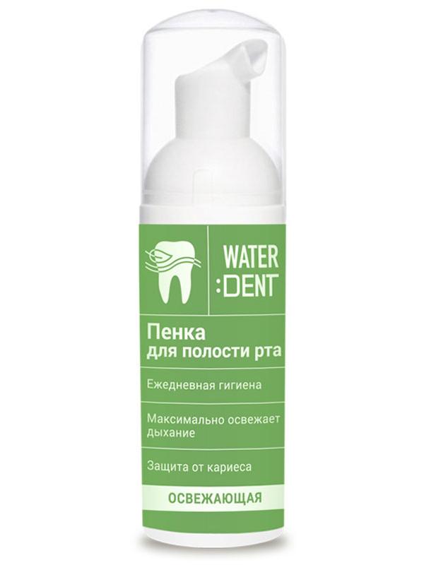 Пенка Waterdent Освежающая с экстрактом перечной мяты 50ml 4605370008050