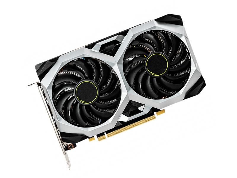 Видеокарта MSI GeForce GTX 1660 Ti 1770Mhz PCI-E 3.0 6144Mb 12000Mhz 192 bit 3xDP HDMI VENTUS XS 6G