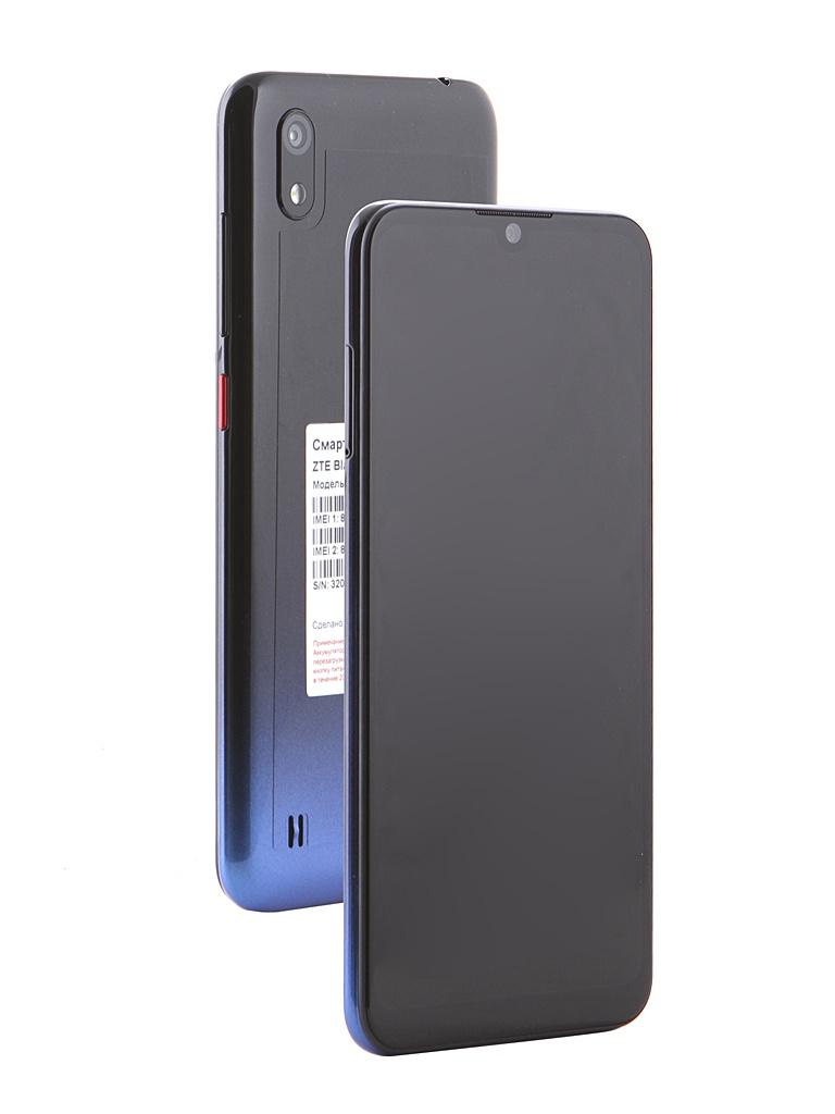 Сотовый телефон ZTE Blade A7 2019 Black-Blue