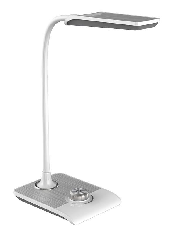Настольная лампа NATIONAL NL-68LED White-Silver