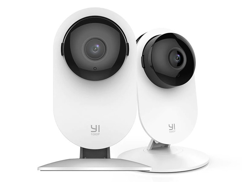 IP камера Xiaomi Yi Home Camera 1080p Family Pack 2-in-1 White EU International Version