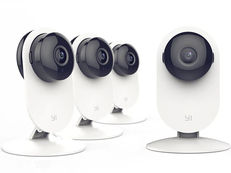 IP камера Xiaomi Yi Home Camera 1080p Family Pack 4-in-1 White EU International Version
