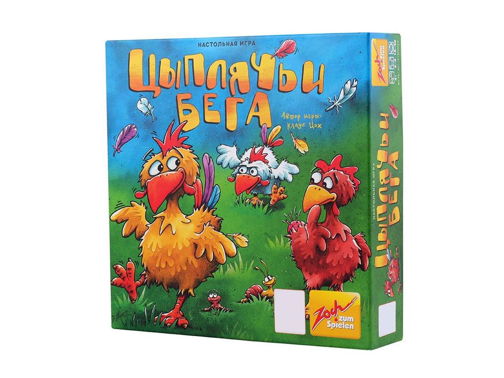 Настольная игра Стиль жизни Цыплячьи бега УТ000000811