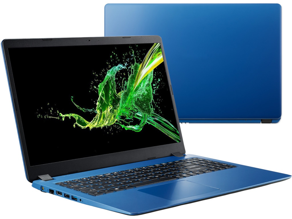 Ноутбук Acer Aspire A315-54K-35FA NX.HFYER.003 (Intel Core i3-7020U 2.3 GHz/4096Mb/256Gb SSD/Intel HD Graphics/Wi-Fi/Bluetooth/Cam/15.6/1920x1080/Linux)