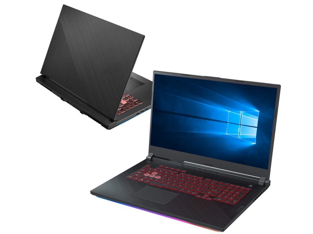 Ноутбук ASUS ROG GL731GT-AU066T 90NR0223-M02520 (Intel Core i7-9750H 2.6GHz/8192Mb/1000Gb + 256Gb SSD/nVidia GeForce GTX 1650 4096Mb/Wi-Fi/Bluetooth/Cam/17.3/1920x1080/Windows 10 64-bit) системный блок asus rog g20cb 0 0 core i7 6700 3400mhz 16384mb hdd ssd 3000gb nvidia geforce® gtx 1080 8192mb ms windows 10 home 64 bit [90pd01k1 m09230]