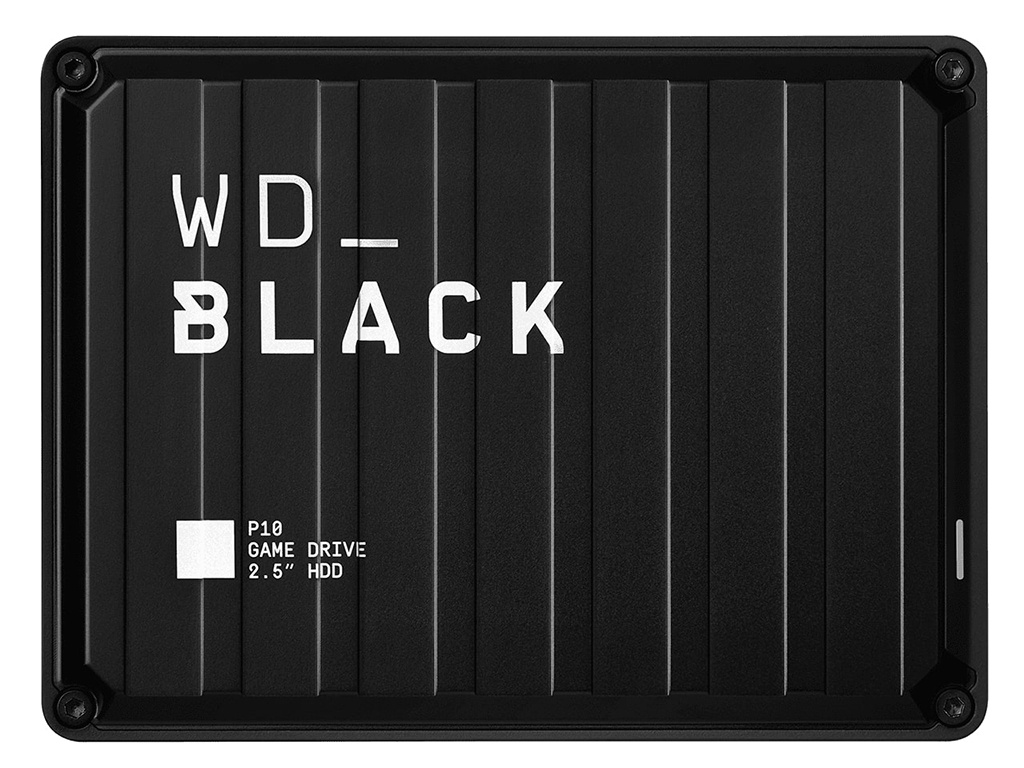 Жесткий диск Western Digital P10 Game Drive 4Tb Black WDBA3A0040BBK-WESN