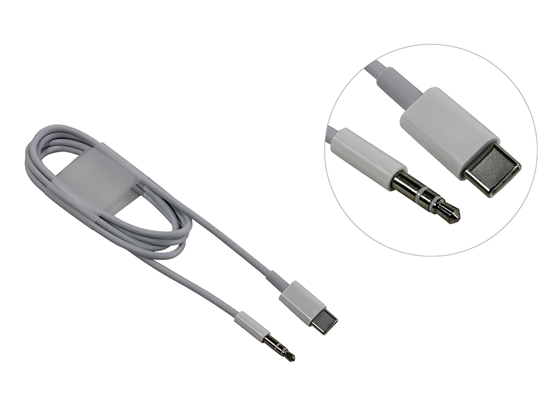 Аксессуар KS-is KS-377 USB Type C - AUX Silver