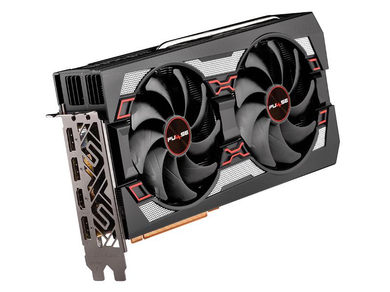 Видеокарта Sapphire Pulse Radeon RX 5700 XT 1670Mhz PCI-E 4.0 8192Mb 14000Mhz 256 bit HDMI 3xDP 11293-01-20G