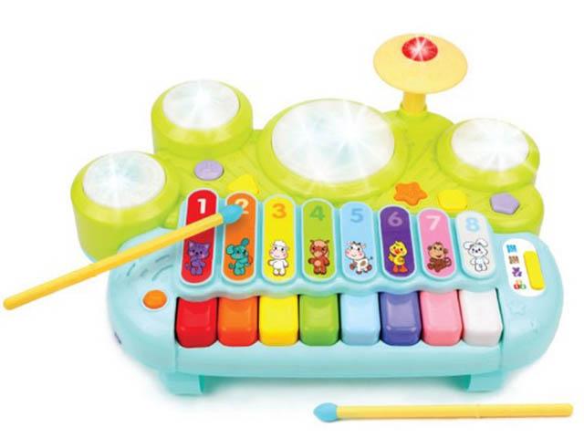 Детский музыкальный инструмент Жирафики Музыкант 939666