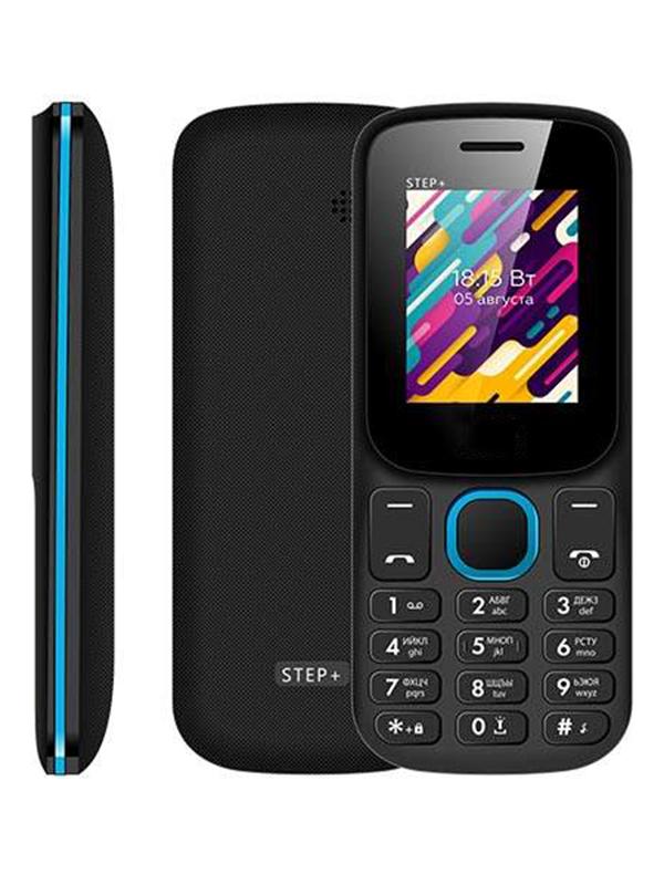 Фото - Сотовый телефон BQ 1848 Step+ Black-Blue мобильный телефон bq mobile bq 1807 step dark blue