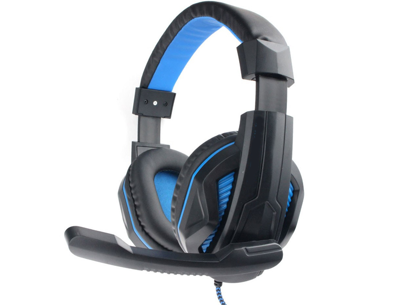 Gembird MHS-G215 Black-Blue mhs g30