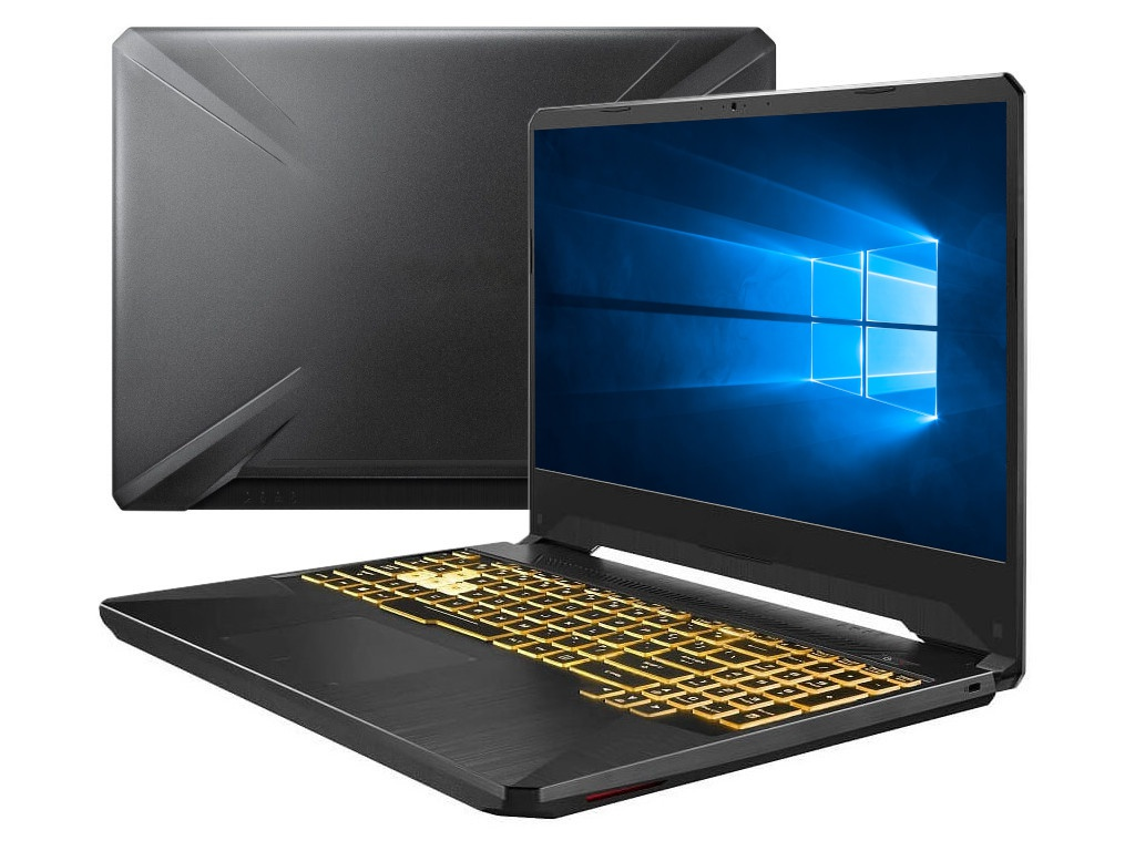 Ноутбук ASUS ROG FX505DT-BQ140T 90NR02D1-M04460 (AMD Ryzen 7-3750H 2.3GHz/8192Mb/256Gb SSD/No ODD/nVidia GeForce GTX 1650 4096Mb/Wi-Fi/Cam/15.6/1920x1080/Windows 10 64-bit)