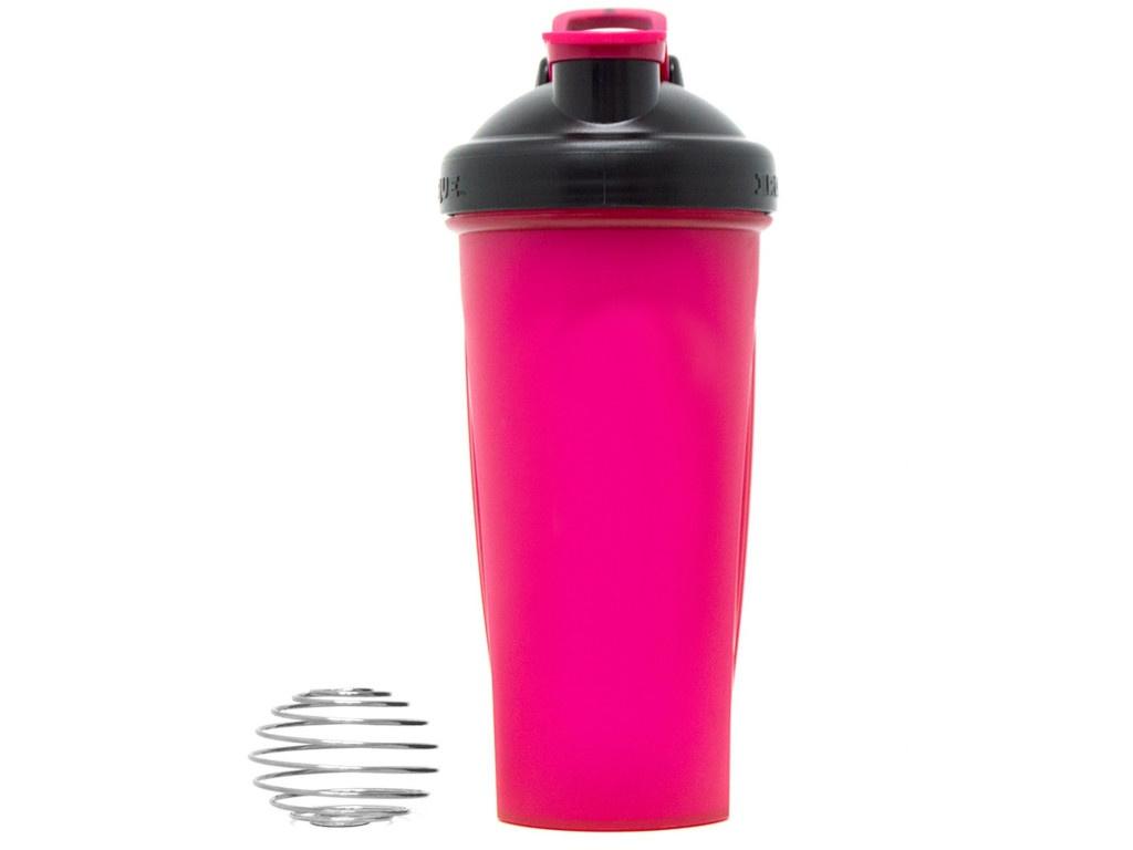 Шейкер Irontrue ITS916-600 700ml Black-Pink