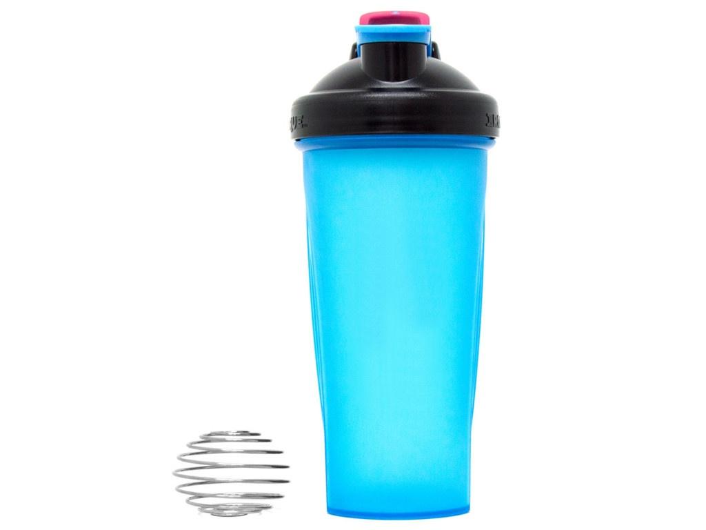 Шейкер Irontrue ITS916-600 700ml Black-Light Blue