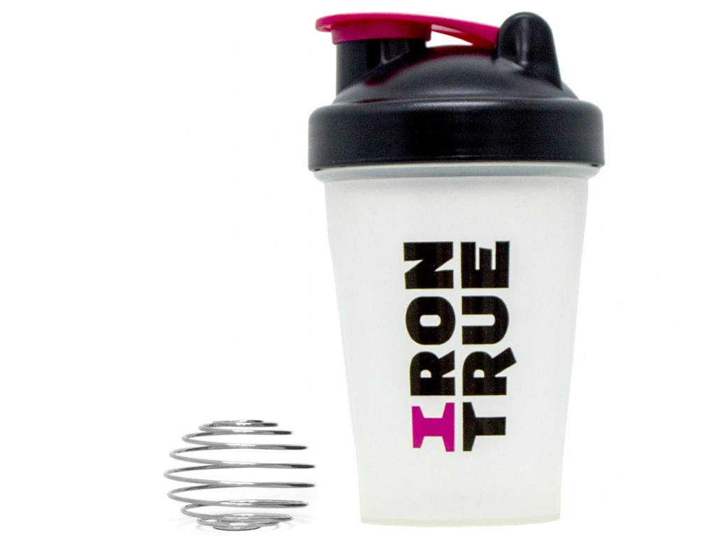 Шейкер Irontrue ITS901-400 500ml Pink-Black-White