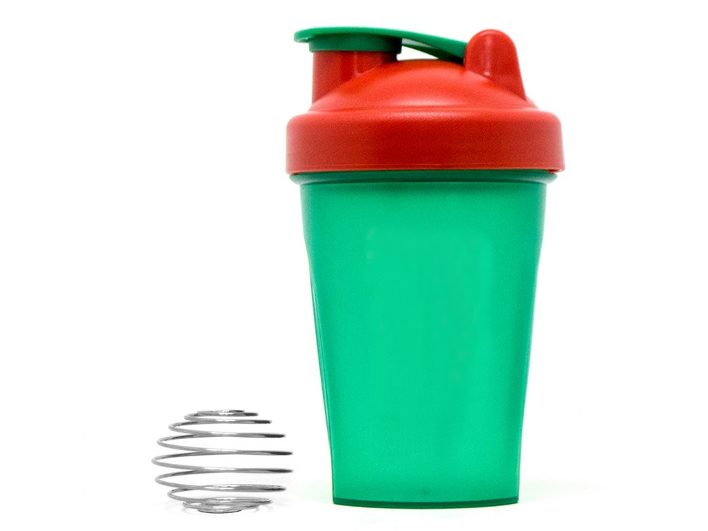 Шейкер Irontrue ITS901-400 500ml Green-Red-Green