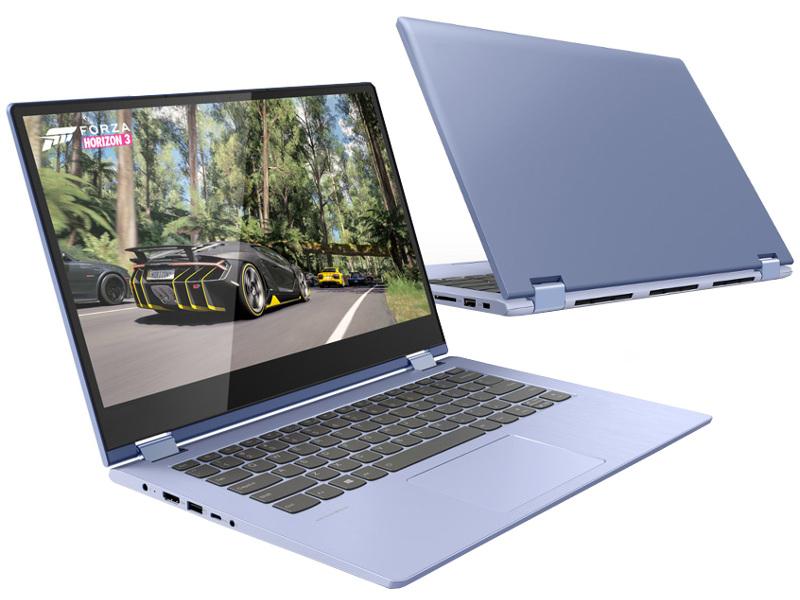 Ноутбук Lenovo Yoga 530-14IKB 81EK0196RU (Intel Pentium 4415U 2.3 GHz/4096Mb/128Gb SSD/No ODD/Intel UHD Graphics 610/Wi-Fi/Bluetooth/Cam/14/1920x1080/Windows 10)