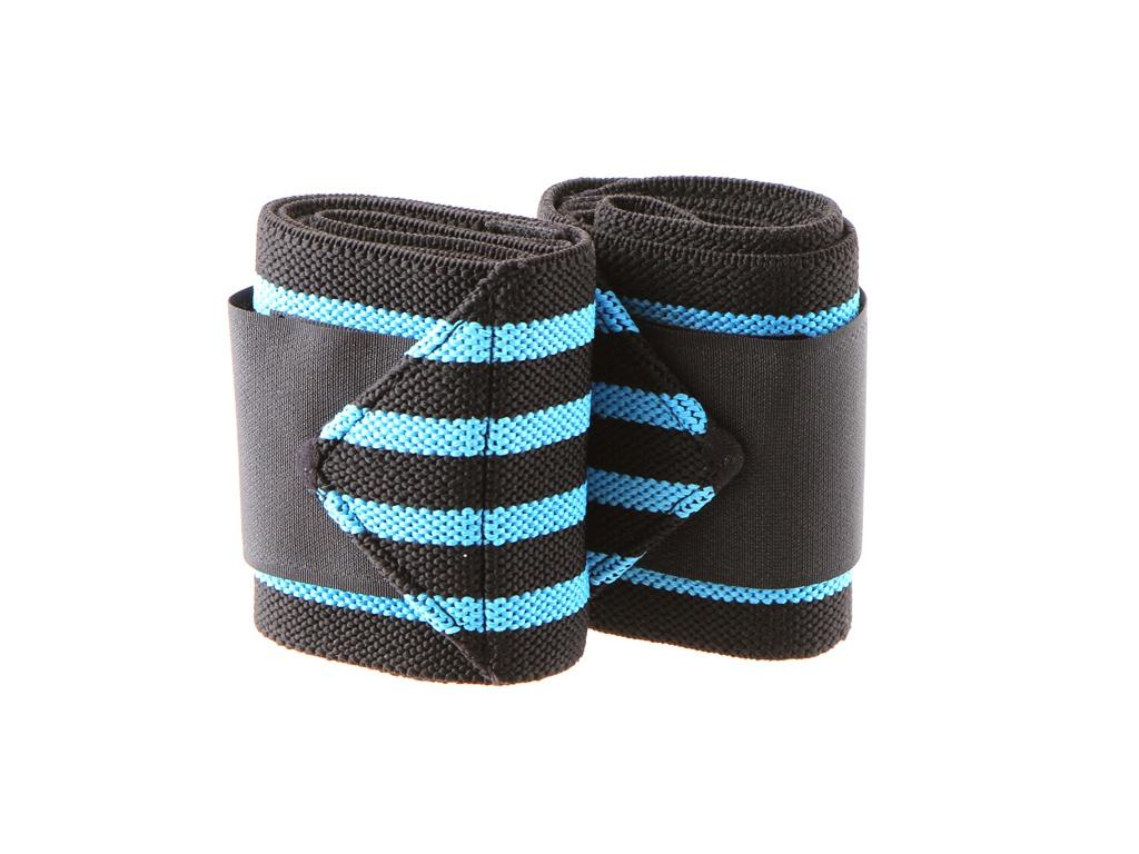 Кистевой бинт Irontrue WS100-50 Black-Blue