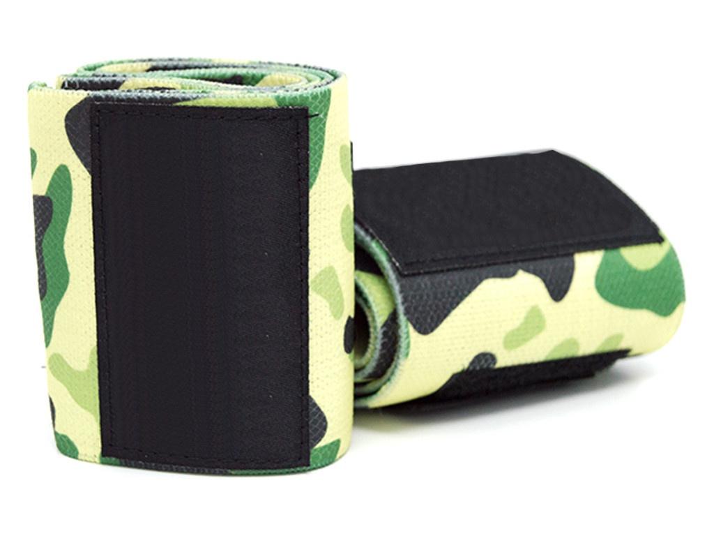 Кистевой бинт Irontrue WS100-50 Green Camouflage