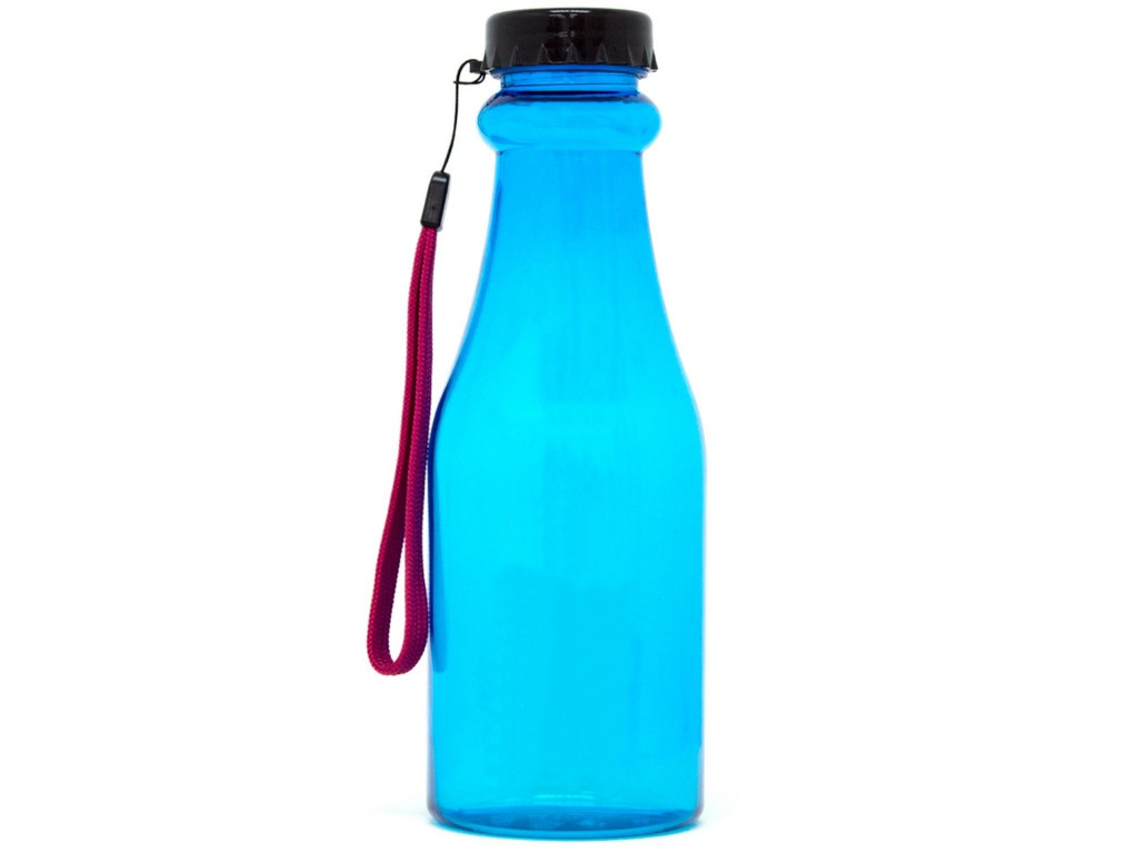 Бутылка Irontrue ITB921-550 550ml Black-Light Blue