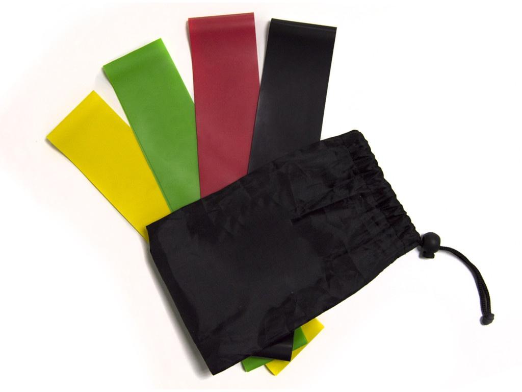 Эспандер Набор резинок для фитнеса Irontrue EBF4-25 4шт