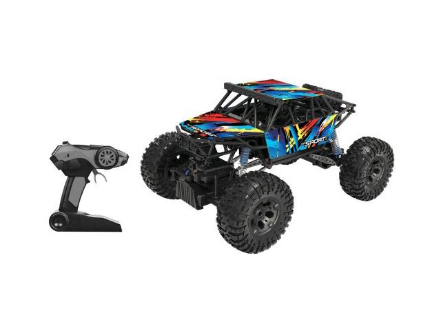 Радиоуправляемая игрушка Пламенный мотор Краулер-Амфибия 4WD 870425