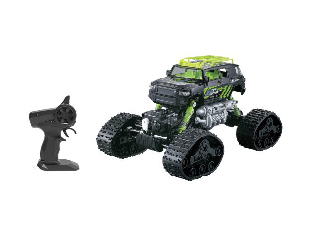 Игрушка Пламенный мотор Краулер Вездеход 4WD Black-Green 870432
