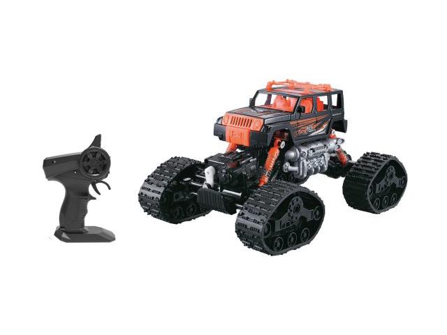 Игрушка Пламенный мотор Краулер Вездеход 4WD Black-Orange 870431