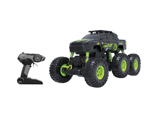 Радиоуправляемая игрушка Пламенный мотор Краулер Штурм 4WD Black-Green 870427
