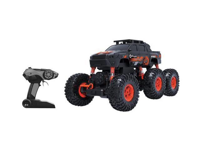 Радиоуправляемая игрушка Пламенный мотор Краулер Штурм 4WD Black-Orange 870428