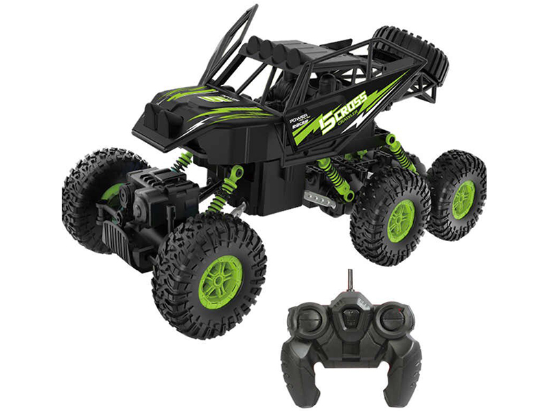 Игрушка Пламенный мотор Краулер Штурм 6WD Black-Green 870430