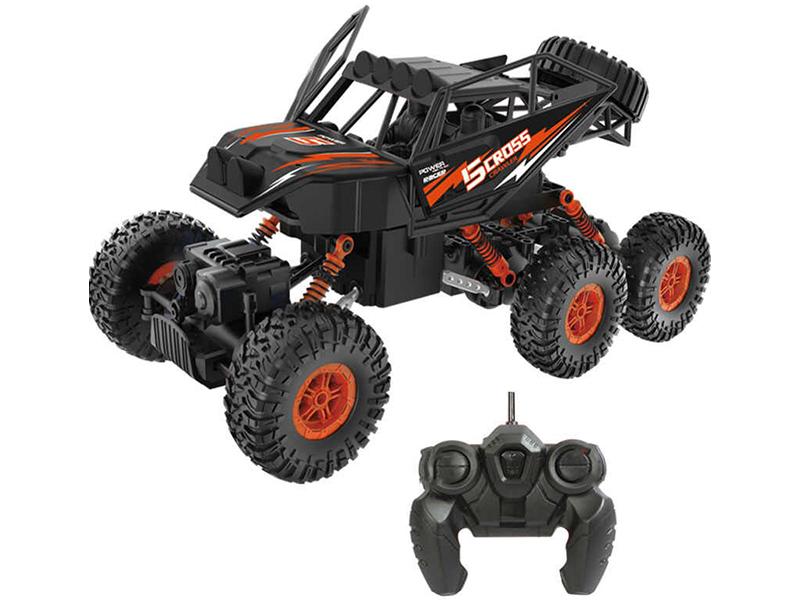 Игрушка Пламенный мотор Краулер Штурм 6WD Black-Orange 870429