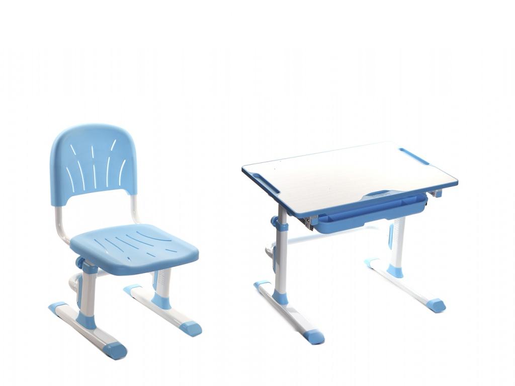 Парта Cubby Lupin Blue со стулом
