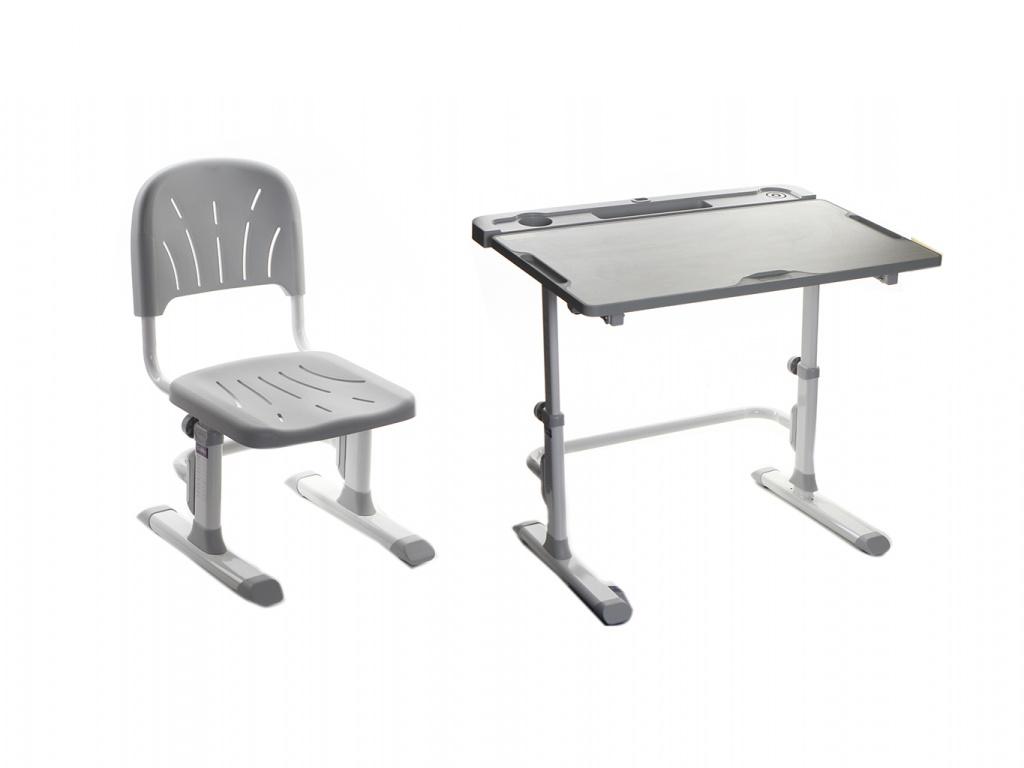 Парта Cubby Disa Grey со стулом