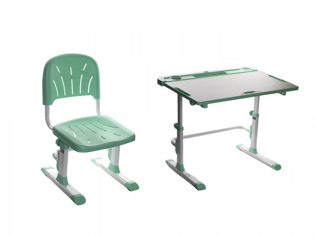 Парта Cubby Disa Green со стулом