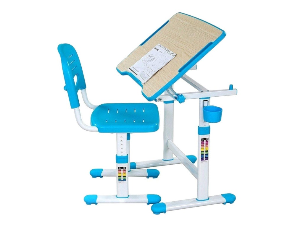 Парта FunDesk Piccolino II Blue